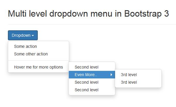 multi-level-dropdown