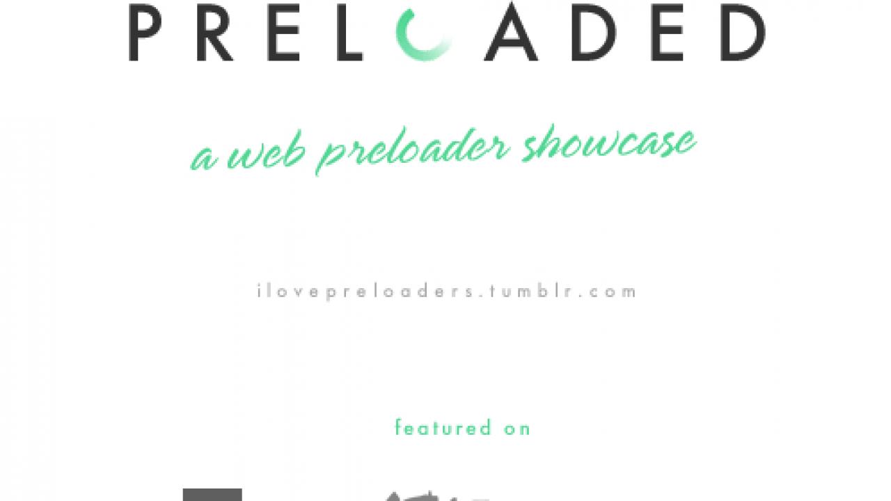 ilovepreloaders - A tumblr collection of preloader