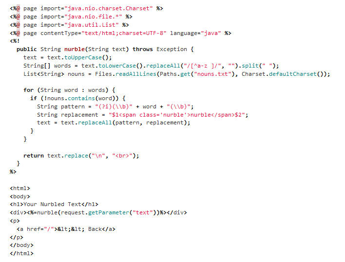 java script coding examples