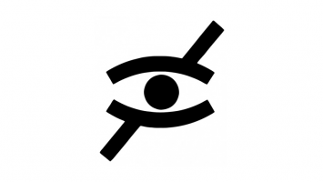 This picture shows the icon of blindness