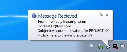 smtp4dev-php-login-mail