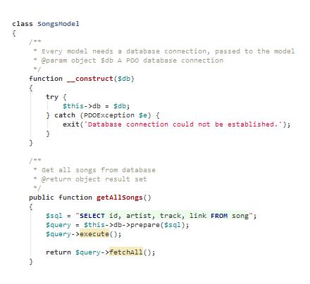 github syntax highlighting php code