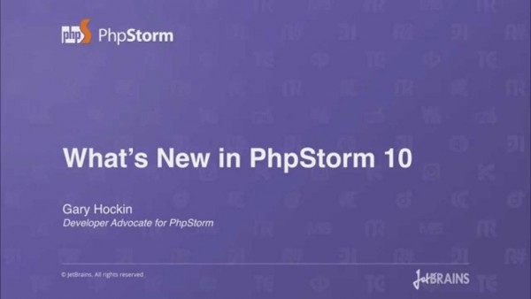 What's New in PHPStorm 10